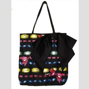 Brighton Take A Beau Bow Tote Bag Shopper Handbag